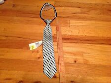 """NWT Boys Youth clip on tie lot 14"""" Green tie"""