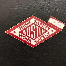New listing Nice Austin Powder Coal Mining Sticker Decal Rare Vintage Lot