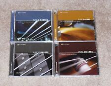 Yellow Tools - 5 Disc Sample Disc's -Pure Drums, Guitars, E-Basses <NEW> $600