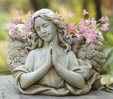 "6.5""H Praying Angel Wing Planter Outdoor Garden Statue Joseph's Studio # 68437"