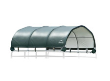 New listing Horse Animal Corral Shelter Portable Shade 144 sq. ft. 1-3/8 in. Steel Frame