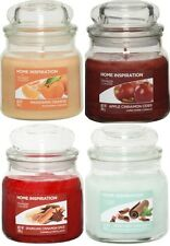 4 Yankee Candle Medium Jar - Home Inspiration Large Discount Off £40 RRP -SET 2