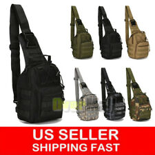 Tactical Sling Military Backpack Pack Rover Small Shoulder Bag Molle Bike Hiking
