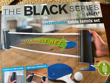 Retractable Table Tennis Ping Pong Set The Black Series 7 piece set New in Box
