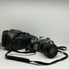 Pentax Asahi K1000 35mm SLR Film Camera W/ Sigma UC Zoom 70-210MM Lens 1:4-5.6