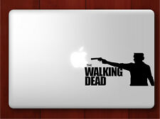 The Walking Dead sticker for Mac Book/Air/Retina laptop Black decal