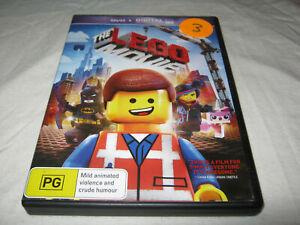 The Lego Movie - VGC - DVD - R4