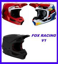Fox Racing Adult V1 Helmet Motocross Dirt ATV Off Road MVRS NEW IN BOX