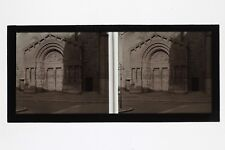 Arles Saint-Trophime France Photo C30 stereo Plaque de verre Vintage 1927