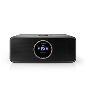 Nedis Internetradio  42 W | UKW | Bluetooth® | Fernbedienung | Schwarz RDIN4000B