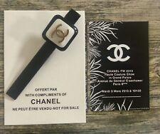 Chanel beauty Perlmutt Haar Hair Clip Klammer Juwel Haarschmuck Neu