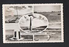 COLLEVILLE (14) Oblitération perlée postale Ste HONORINE-des-PERTES / MONUMENTS