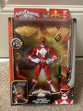 Armored Mighty Morphin Red Ranger Bandai Power Rangers 20 anniversary Megaforce
