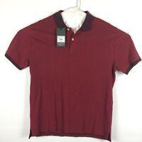 Rodd And Gunn Mens Burgundy Short Sleeve Polo Shirt Size XXL New Sports Fit