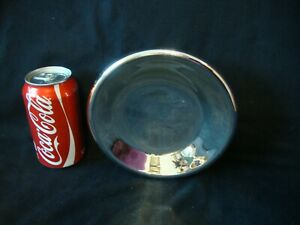 Replacement Mercury Glass style REFLECTOR For Wall Bracket Oil Lamp - Czech Made