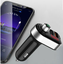 Car FM Transmitter Bluetooth Cigar Plug Mp3 Player Radio Adapter Kit USB Charger