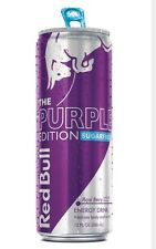 Red Bull Sugar Free Energy Drinks 4 Cans  (Acai Berry- The Purple Edition)