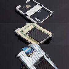Men's Wallet Carbon Fiber Billet Money Clip Credit Card Bottle Opener Cnc In USA