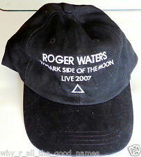 ROGER WATERS - DARK SIDE OF THE MOON Live 2007 Concert Tour Black Baseball Cap