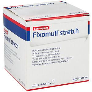 Leukoplast Fixomull stretch | 10cm x 20m | Klebevlies | Fixierung Verband