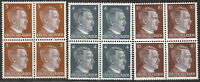 Stamp Selection Germany Block WWII 3rd Reich Hitler 3 04 10PF MNH