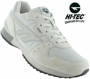 Hi tec SILVER SHADOW Men's Classic Retro Style GYM Running Trainers Size 6-15