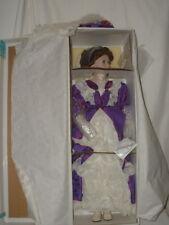 """Court of Dolls 29"""" Porcelain Doll Vanessa NRFB COA 1102/5000"""