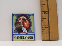 1992 JOE CAMEL CASH CIGARETTES MATCHBOOK WITH MATCHES