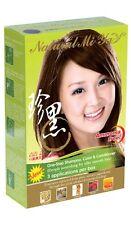 Natural Mi Ya Hair Colouring Shampoo DARK BROWN 3PK ZERO HEAVYMETAL AMMONIA FREE