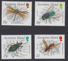 ASCENSION 1989 Insects third series MINT set sg483-486 MNH