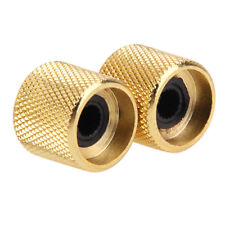 1Pc Gold Plated Metal Tone Volume Control Knob For Electric Guitar Bass Parts