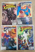 The Adventures Of Superman Issues 627 650 668 669 DC NM