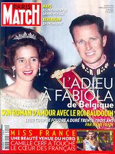 Paris Match Fabiola Belgique Baudouin_Kate Middleton_Miss France_Adjani ©TBC
