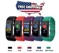 Style Waterproof Fitness Activity Tracker Smart Watch Heart Rate