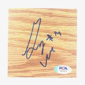 Gary Neal Signed Floorboard PSA/DNA Autographed Atlanta Hawks