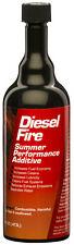 E-ZOIL Diesel Fire Summer Performance Additive 16oz - Part# D50-16 Case of 24