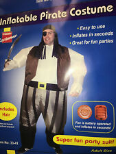 Inflatable PirateFancy Dress Party Costume,
