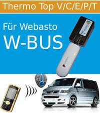 GSM Handy Fernbedienung für Standheizung (USB) Thermo Top W-BUS mit GPS Option