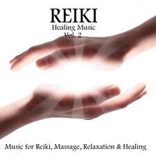 REIKI HEALING MUSIC VOL. 2 CD: MUSIC FOR REIKI, MASSAGE, RELAXATION & HEALING