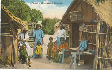 Mexican Indian Family  ca 1908 * at Home