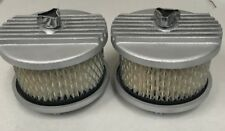 Holden HZ HX VB  Stromberg carby HX HZ twin carburettor finned air filters