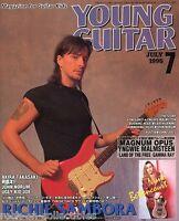 Young Guitar Magazine July 1995 Japan Bon Jovi Nelson Slaughter