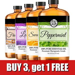 Bulk Essential Oils – Therapeutic Grade – Pure & Natural - 4oz, 8oz, 16oz