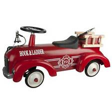 Great Gizmos Child / Kid Sit And Ride Indoor / Outdoor Speedster Fire Engine Toy
