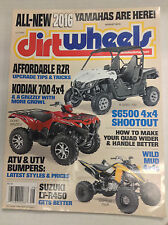 Dirt Wheels Magazine Kodiak 700 4x4 Suzuki LT-R450 August 2015 032717nonR