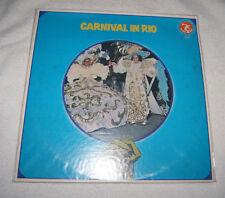 LP: Carnival in Rio de Janeiro (1978) Olympic Records - VG condition
