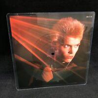 "Billy Idol Rebel Yell Shaped Album Record 7"" 1984 Chrysalis Record"