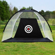 2M Foldable Golf Driving Cage Practice Hitting Net Home Garden Trainer with Bag