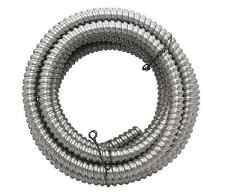 "50' Southwire Metal Flex Flexible 1/2"" Conduit 13 mm 0.5"" Electrical Wire Tubing"
