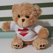 PRIMARK LOVE LONDON TEDDY BEAR WHITE SHIRT KIDS TOY 20CM!